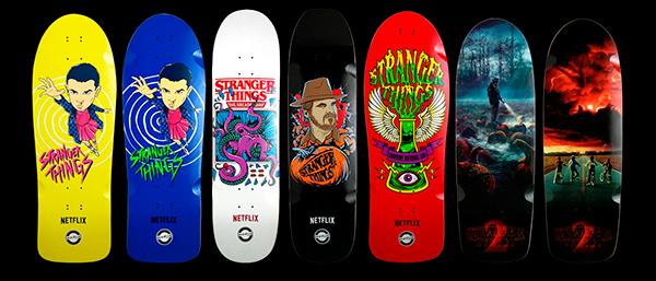 Stranger Things e Madrid Skateboards lançam collab.