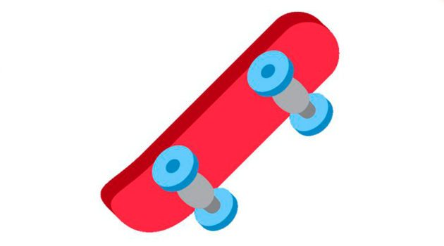 O Emoji de Skate já está online! b16900bd359