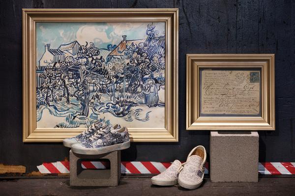 899d92fa1f8 Coleção Vans x Van Gogh Museum. (Divulgação)